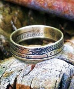 America The Beautiful (2010-2017) Silver Quarter Coin Ring