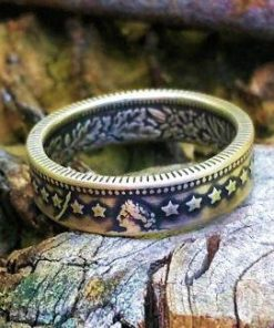 Silver Swiss 1 Franc Coin Ring ~ Switzerland