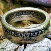 Columbian Exposition Half Dollar Coin Ring