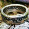 Columbian Exposition Half Dollar Coin Ring