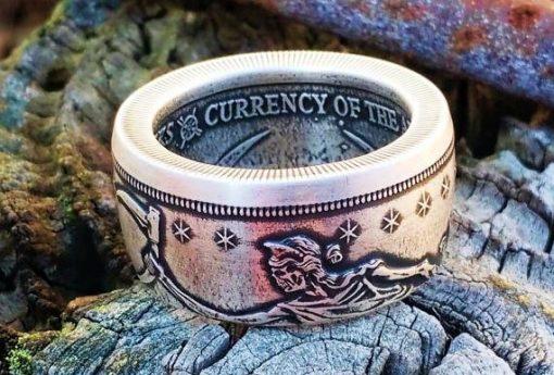 Slayed Dollar Zombucks Coin Ring