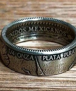 Quarter Ounce Mexican Libertad Coin Ring