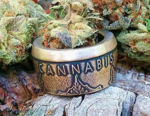 Cannabis Legalize Nature 999 Fine Silver Coin Ring